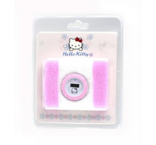 Wholesale lot of 15 Hello Kitty Girls Digital Watch with Terrycloth Towelling Sweatband Pink and White (Needs New Batteries)