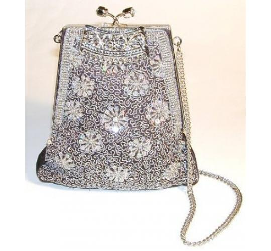 Ladies Embroidered Jewelled Evening Bags