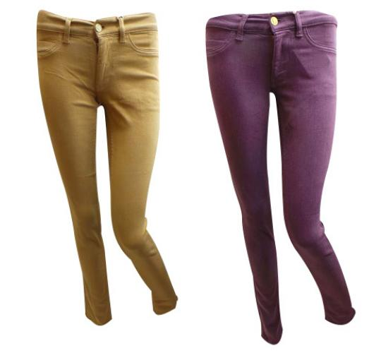 One Off Joblot of 4 Ladies MiH Vienna Super Skinny Jeans Violet & Amber