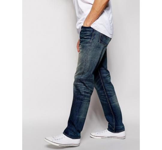 Mens Jeans Blue vintage dark wash – Skinny Fit, Premium Quality Branded Jeans