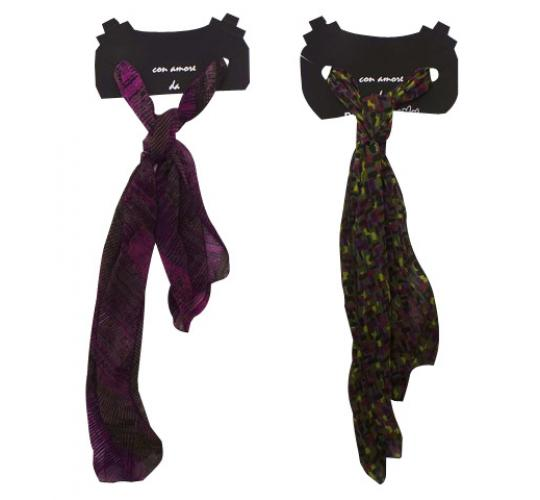 Wholesale Joblot of 20 Mixed Ladies Ex-High Street Scarves 2 Colours Available