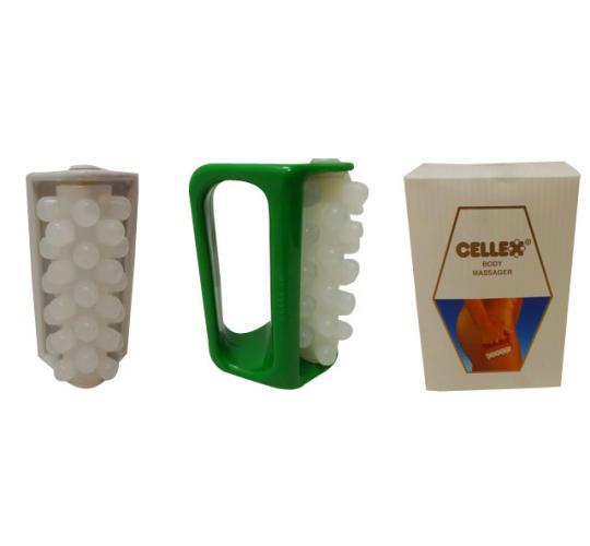 Wholesale Joblot of 30 Cellex Handheld Body Massage Rollers
