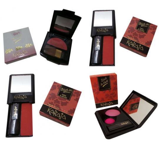 Wholesale Joblot of 30 Ladies Karaja Blushers Variety of Shades