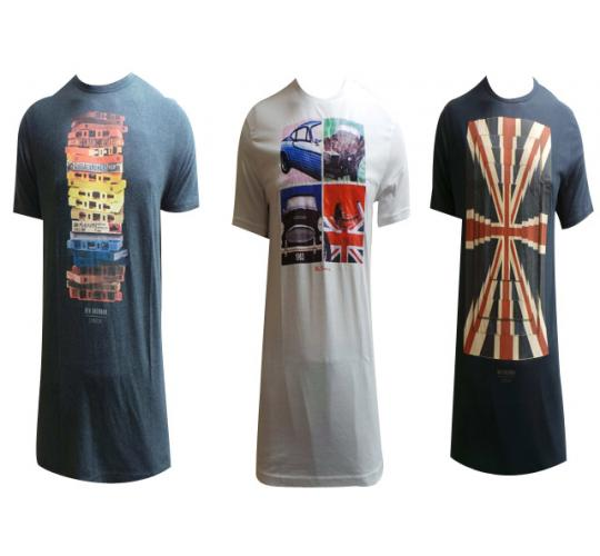 Wholesale Joblot of 10 Mens Assorted Ben Sherman T-Shirts Mixed Designs/Sizes