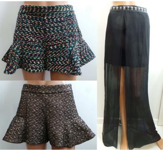 One Off Joblot of 5 Ladies Wondaland Shorts/Skirts 3 Stunning Styles Sizes 6-10
