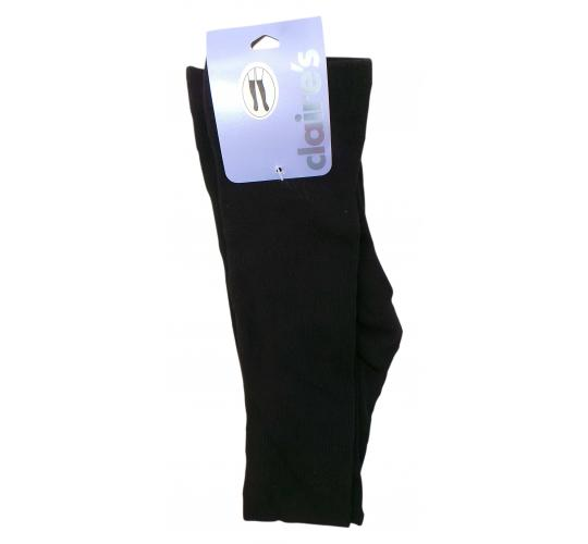 One Off Joblot of 105 Ex-High Street Black Over The Knee Tights One Size