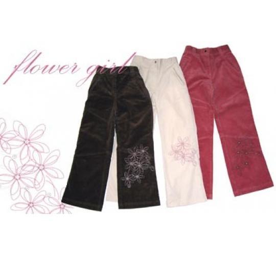 Girls Corduroy Trousers