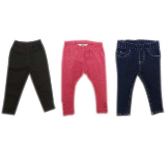One Off Joblot of 40 Girls Branded Leggings Variety of Designs/Colours