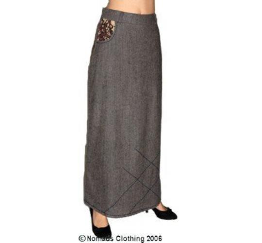 Ladies Long Autumn Winter Skirts