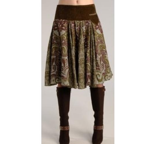 Ladies Midi Autumn Winter Skirts