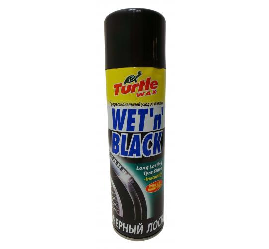 Wholesale Joblot of 30 Turtle Wax Wet 'n' Black Long Lasting Tyre Shine 500ml