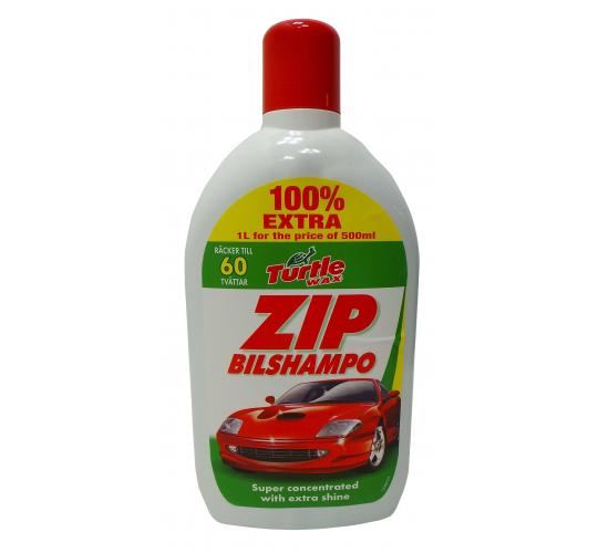 Wholesale Joblot of 30 Turtle Wax Zip Bilshampo 1L For Price of 500ml