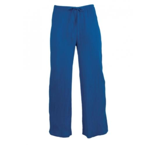Ladies Drawstring Lightweight Cotton Trousers