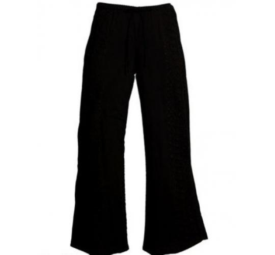 Ladies Embroidered Cotton Trousers, Printed Trousers & Stripey Trousers