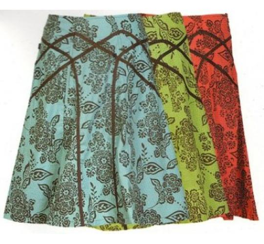 Ladies Summer Midi Skirts