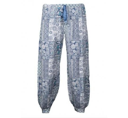 Ladies Printed Harem & Patchwork Trousers