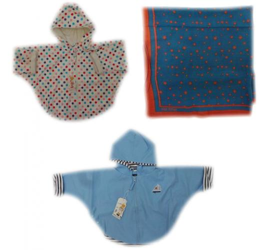 One Off Joblot of 4 Toddlers Weekend a la Mer Coats & 1 Nice Things Mini Scarf