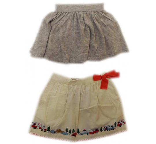 One Off Joblot of 13 Girls Branded Skirts 2 Styles FUB & Nice Things Mini