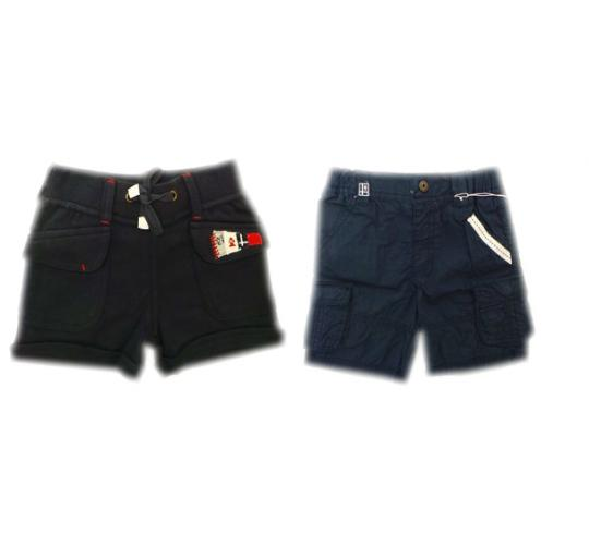 One Off Joblot of 20 Unisex Kids Weekend a la Mer Shorts 3 Styles Mix of Sizes