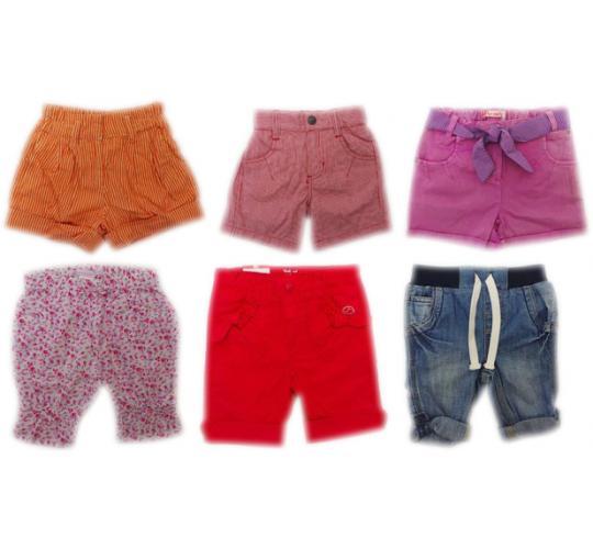 One Off Joblot of 45 Kids Assorted Branded Shorts Boys & Girls