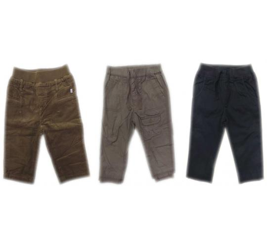 One Off Joblot of 23 Kids Unisex Bebe by Minihaha Trousers 4 Styles 6-24 Months