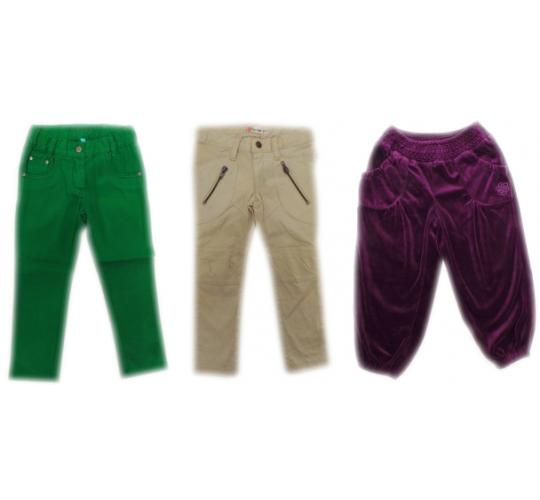 One Off Joblot of 11 Girls Aya Naya Trousers 4 Styles Sizes 18 months-6 Years