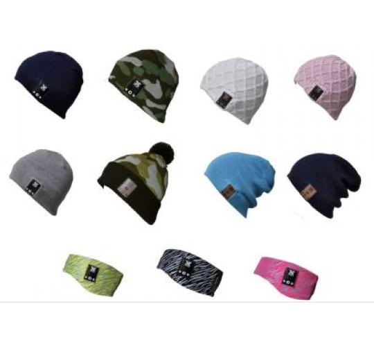 BE Headwear Bluetooth Audio Headphone Beanies / Hats