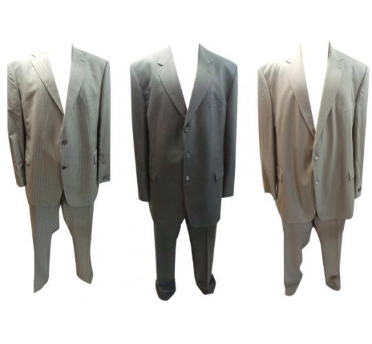 Joblot of 100 Assorted Mens Suits Varteks, Odermarks, Wilvorst, Hugo James Etc