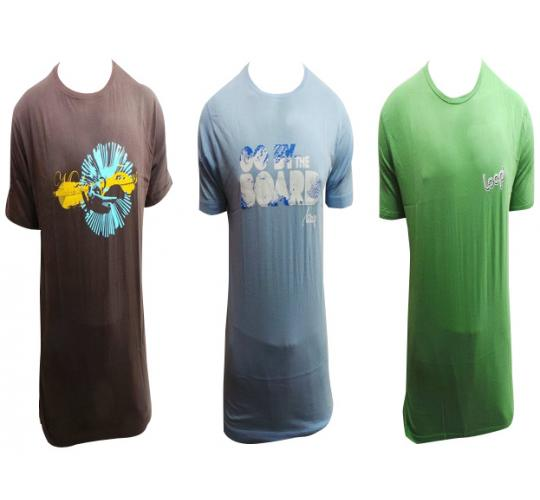One Off Joblot of 10 Mens Loop Clothing T-Shirts Mixed Designs Sizes S-XL