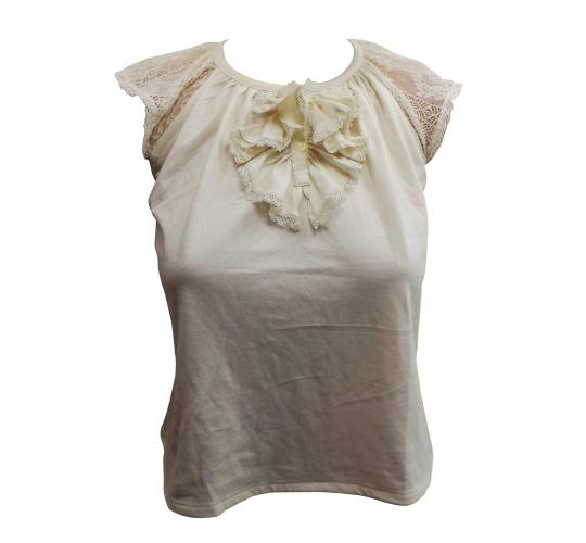 Wholesale Joblot of 10 Ladies De-Branded Designer Cream Blouses Sizes 7-14
