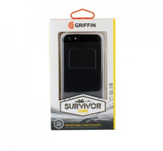 "50 x Griffin Survivor Core Transparent Case Cover For iPhone 6S & iPhone 6 4.7"" White - GB40700"