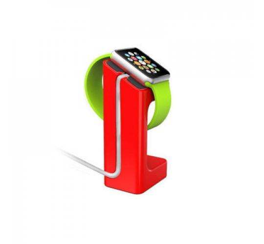 Joblot of 15 Red Desktop Charging Charge Stand Dock Station for Apple Watch iWatch 38mm 42mm