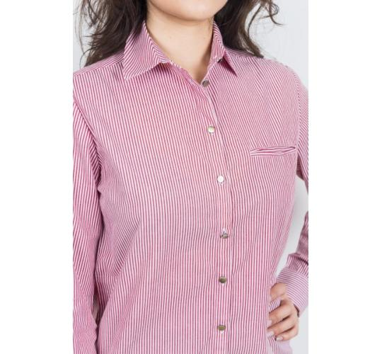 Women's Summer Top Striped Cotton Full Sleeve