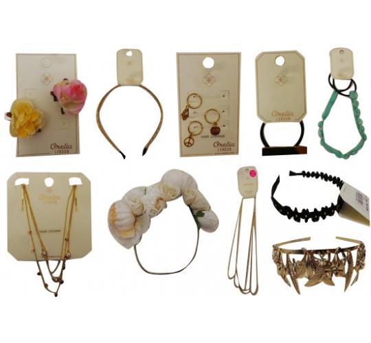 One Off Joblot of 21 Orelia Jewellery Assorted Hair Accessories
