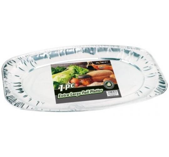 Extra Large Foil Platter (Approx 550mm x 360mm x 30mm)