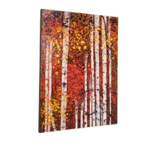 Tree oil painting canvas ex Dwell stock