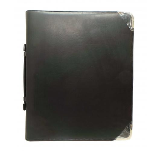 One Off Joblot of 16 Black Classic Presentation Folders A4