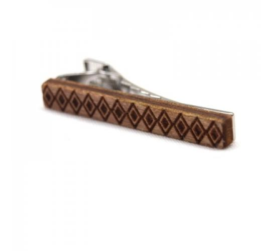 Riada by Adair Argyle Birch tie clip