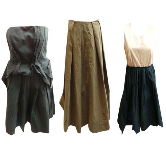 One Off Joblot of 7 Ladies Cacharel Dresses & Skirts 3 Styles Available
