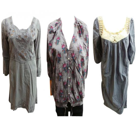 One Off Joblot of 7 Ladies Local Dresses & Shirts 3 Styles Available