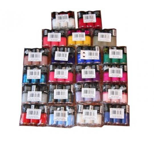 126 x Collection Work the Colour Nail Polish | 21 shades