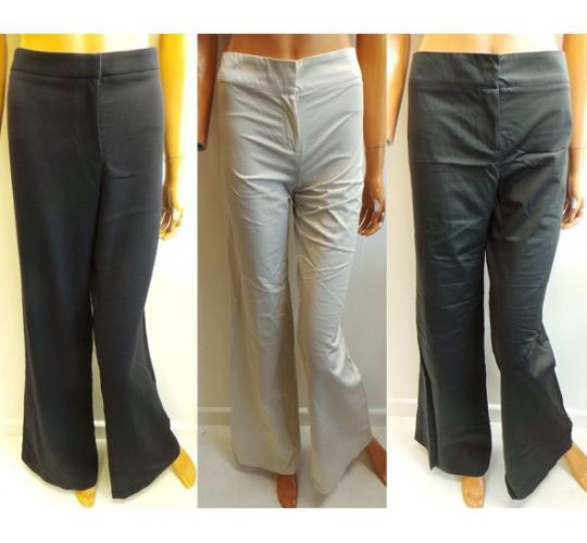 One Off Joblot of 9 Ladies Mixed Goat Flared Trousers Sizes 6-14