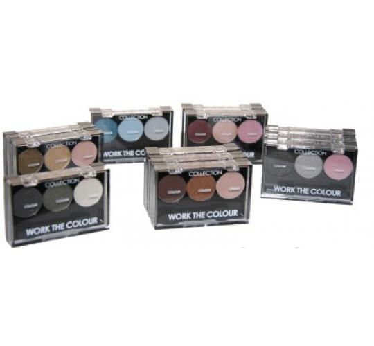 12 x Collection Work The Colour Eyeshadow | Mixed shades