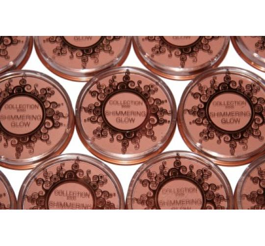 24 x Collection Shimmering Glow Powder | Sunkissed |