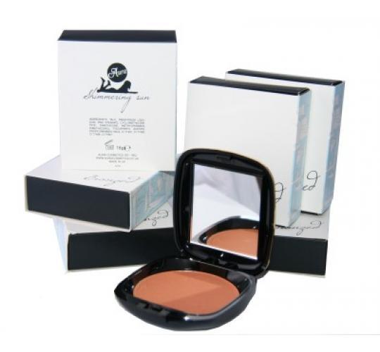 48 x Aura bronzing powder | Shimmering Sun