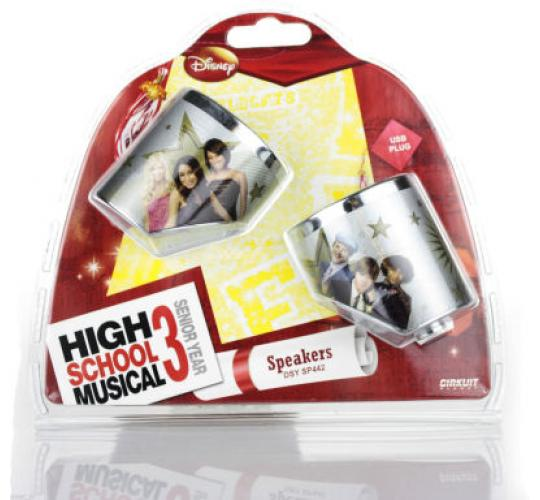 Job lot of 40 x Official Disney High School Musical USB Portable Speakers