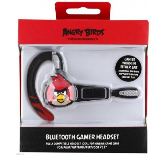Job lot of 12 x Angry Birds Bluetooth Gamer Wireless Headset Sony PlayStation 3 PS3