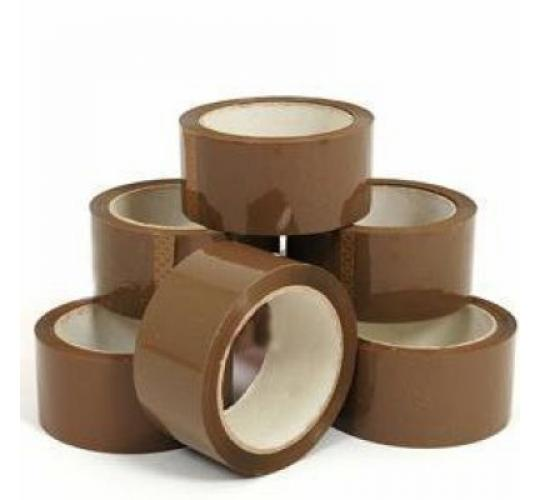 100 x Joblot of Brown Parcel Packaging Tape and Mailing Postal Bags