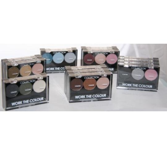 48 x Collection Work The Colour Eyeshadow | Mixed shades