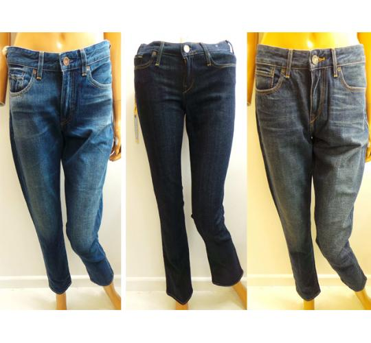 One Off Joblot of 8 Ladies Levi's Made & Crafted Jeans 5 Styles 24W-31W